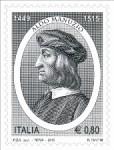 Francobollo Aldo Manuzio