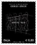 Francobollo Armani Silos Expo