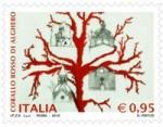 Francobollo Corallo Rosso Alghero