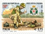 Francobollo Croce Rossa
