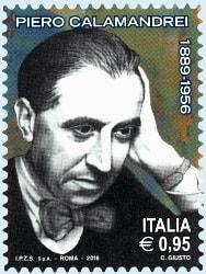 Francobollo Piero Calamandrei