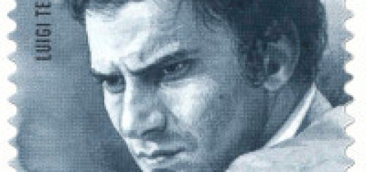 Francobollo Luigi Tenco
