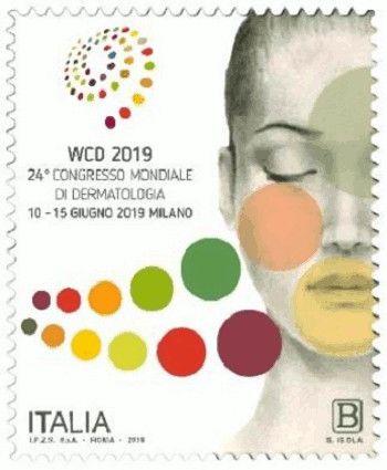 Francobollo per il Congresso Mondiale di Dermatologia